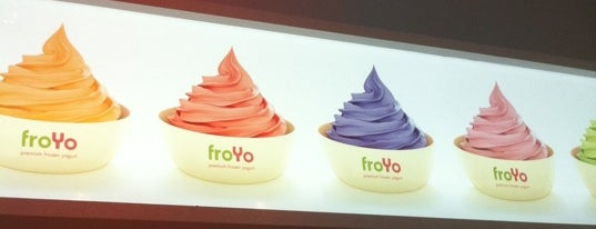 FroYo is one of food to try.