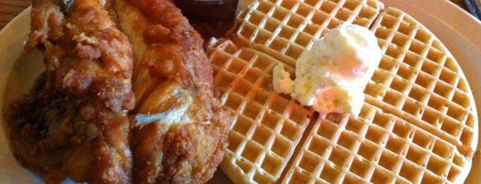Roscoe's House of Chicken and Waffles is one of Food :).