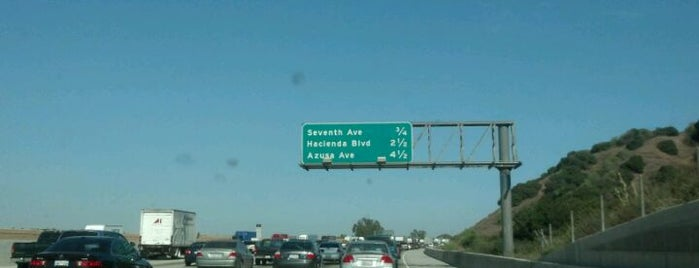 CA-60 (Pomona Freeway) is one of My places.