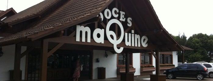 Doces Maquiné is one of Locais curtidos por Carolina.