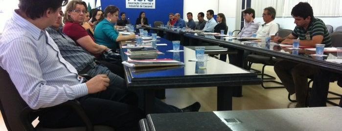 ACIC - Associacao Comercial e Industrial de Cascavel is one of Rosimery.