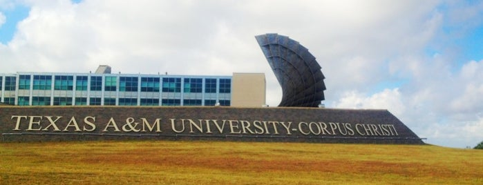 Texas A&M University-Corpus Christi is one of Lieux qui ont plu à Andres.