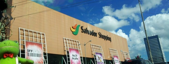 Salvador Shopping is one of Tempat yang Disukai Alexandra.