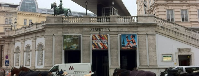 Albertina is one of mylifeisgorgeous in Vienna.