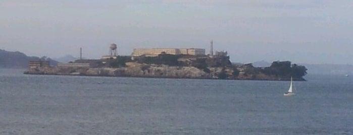 Alcatraz Cruises is one of Ian's San Francisco Treat.