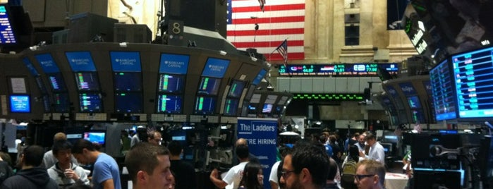 NYSE Trading Floor is one of New York City.