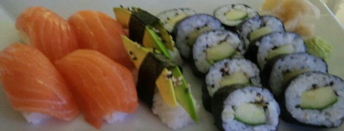 Hanko Sushi is one of Sushi Sampler.