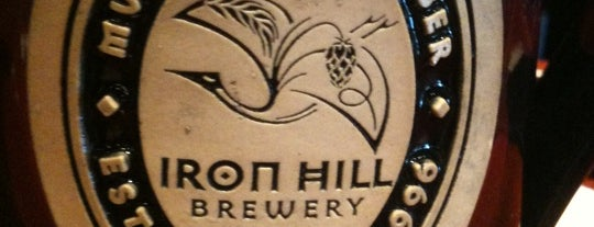 Iron Hill Brewery & Restaurant is one of Tempat yang Disukai Melanie.