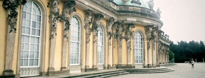 Schloss Sanssouci is one of Brandenburg Blog.