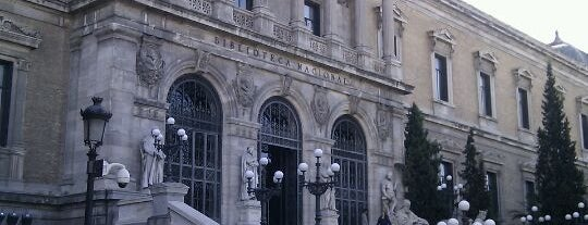 Biblioteca Nacional de España is one of CULTURA MADRID.