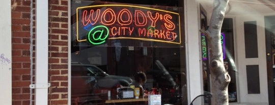 Woody's at City Market is one of Restaurants.