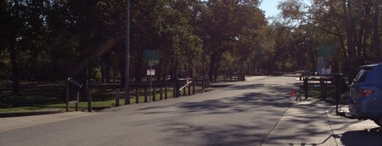 Memorial Park Cycling Route is one of Houston.