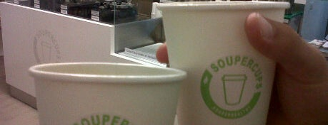 Soupercups is one of Mangiare vegan a Milano.