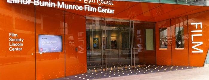 Elinor Bunin Munroe Film Center is one of Explore Lincoln Center.