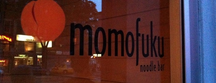 Momofuku Noodle Bar is one of My NY spots....