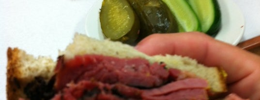 Katz's Delicatessen is one of NYC Favorites.