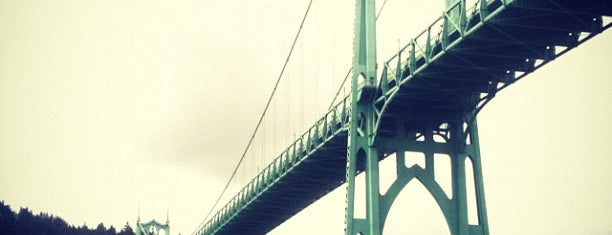 St. Johns Bridge is one of Portland, OR.