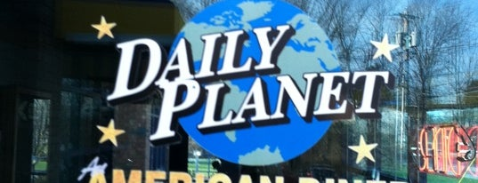 The Daily Planet Diner is one of Barton.