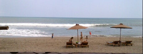 Cozy Beach Cafe is one of Bali's Best.