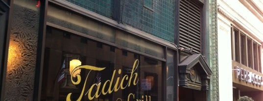 Tadich Grill is one of Pacific Old-timey Bars, Cafes, & Restaurants.