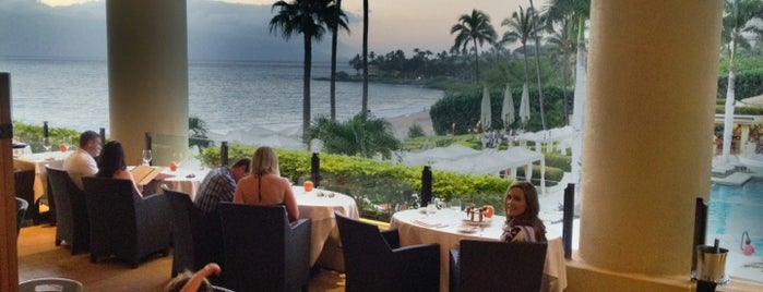 Wolfgang Puck's Spago is one of Hawaii honeymoon.