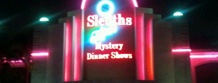 Sleuths Mystery Dinner Shows is one of Locais curtidos por Logan.