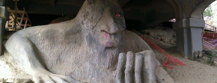 The Fremont Troll is one of Must-have Experiences in Seattle.