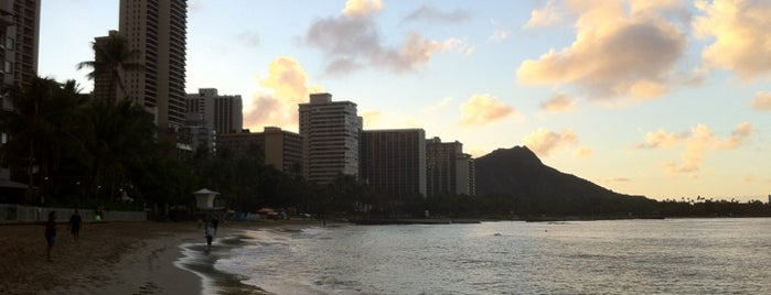 Waikīkī Beach is one of Oahu: The Gathering Place.