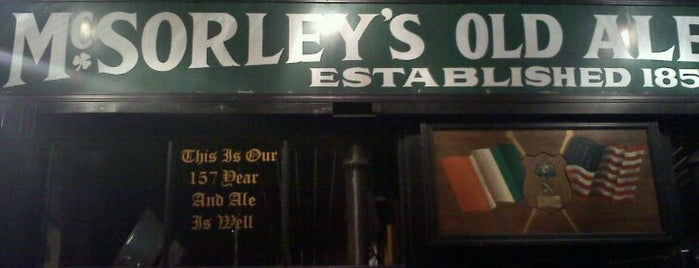 McSorley's Old Ale House is one of Guide to New York's best spots.