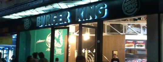 Burger King is one of Tempat yang Disukai Nahuel.