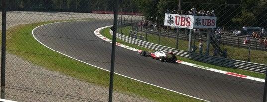 Autodromo Nazionale di Monza is one of Formula 1 Tracks.