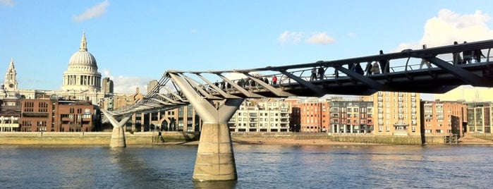 Millennium Bridge is one of Best Things To Do In London.
