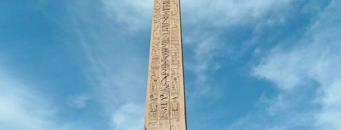 Obelisk von Luxor is one of Paris.