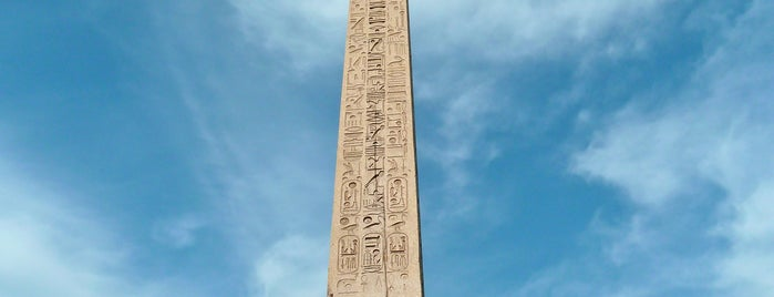 Obelisco de Luxor is one of Bienvenue en France !.
