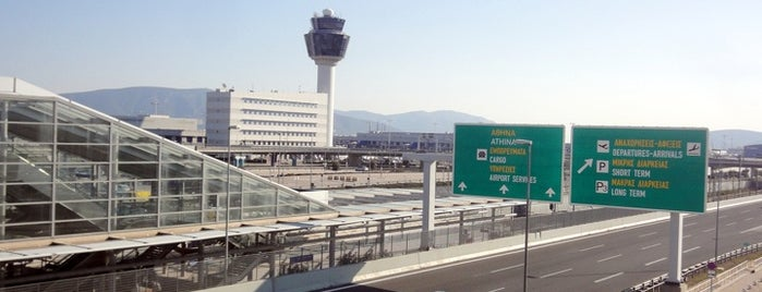 Athens International Airport Eleftherios Venizelos (ATH) is one of Airports of the World.