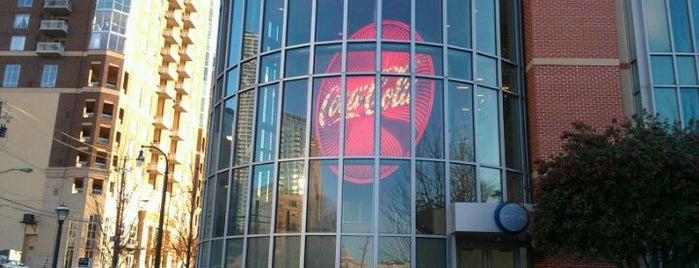World of Coca-Cola is one of Atlanta History.