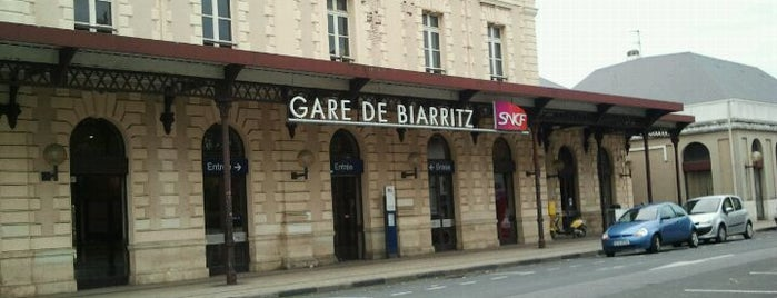 Gare SNCF de Biarritz is one of Posti che sono piaciuti a Beatriz.