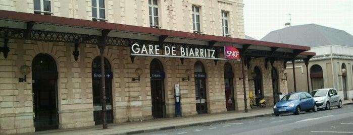 Gare SNCF de Biarritz is one of Beatriz'in Beğendiği Mekanlar.