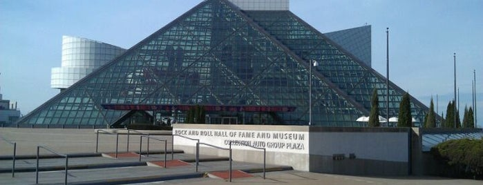 Rock & Roll Hall of Fame is one of US Landmarks.