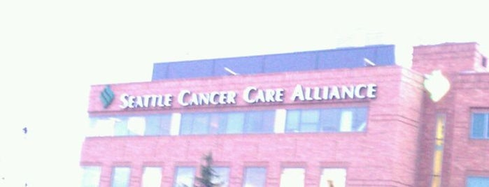 Seattle Cancer Care Alliance is one of Rebeca : понравившиеся места.
