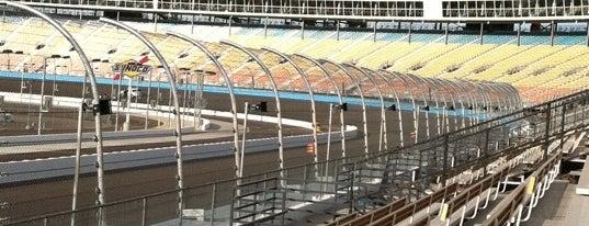 ISM Raceway is one of My NASCAR.