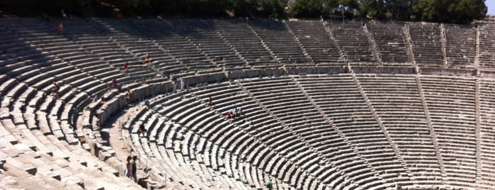 Epidaurus Ancient Theatre is one of Posti che sono piaciuti a Julia.