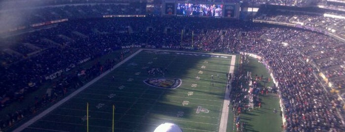 M&T Bank Stadium is one of Charms of Baltimore #visitUS #4sq.