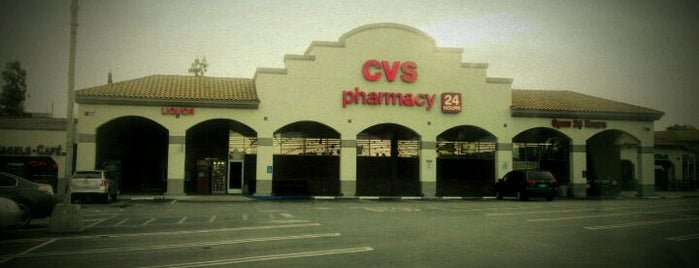 CVS/pharmacy is one of Late night/24hr places.