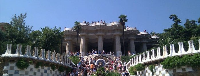 Park Güell is one of Favorite places in Barcelona.
