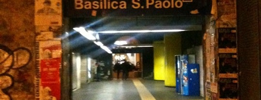 Metro Basilica San Paolo (MB) is one of Rome.