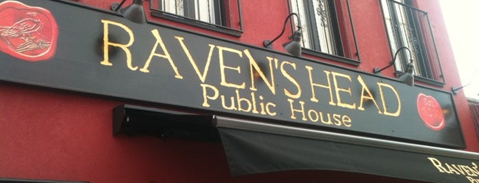 Raven's Head Public House is one of Beer.