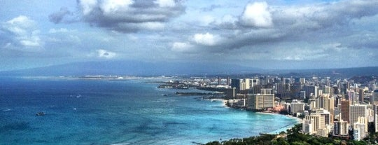 Diamond Head State Monument is one of America's Top Hiking Trail in Each State.