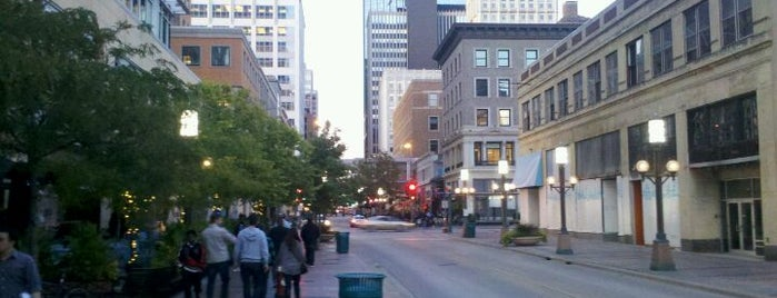 Nicollet Mall is one of Around town.