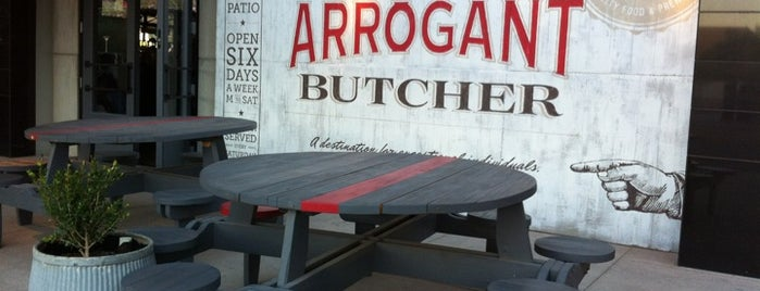 The Arrogant Butcher is one of Food in PHX.